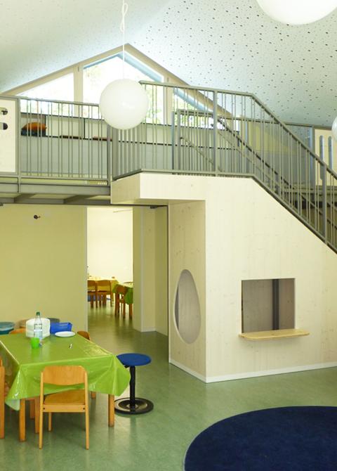 architekt anton graf kindergarten und kinderkrippe. Black Bedroom Furniture Sets. Home Design Ideas